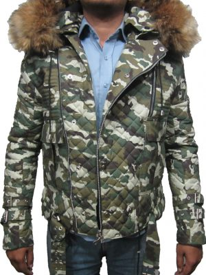 camo furtim with fur