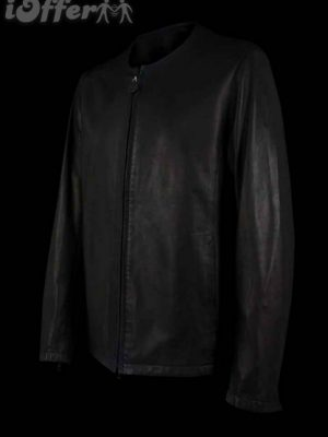 lot78-black-collarless-leather-jacket-new-96a1
