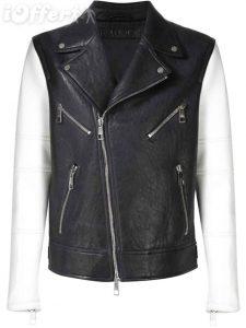 neil-barrett-contrast-sleeve-biker-leather-jacket-new-9c08