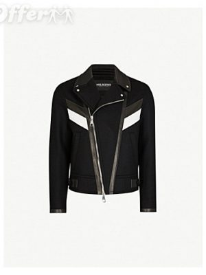 neil-barrett-leather-trim-wool-blend-biker-jacket-new-ff90