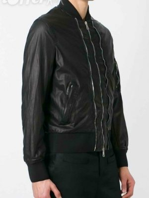 neil-barrett-zip-trim-bomber-leather-jacket-new-a8fb