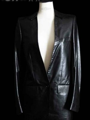 carol-christian-poell-black-leather-blazer-new-f9a0