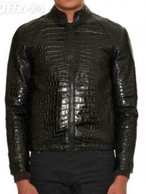 slp-crocodile-effect-leather-bomber-jacket-new-24ff